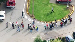 LIVE1: Police respond to report of school shooting