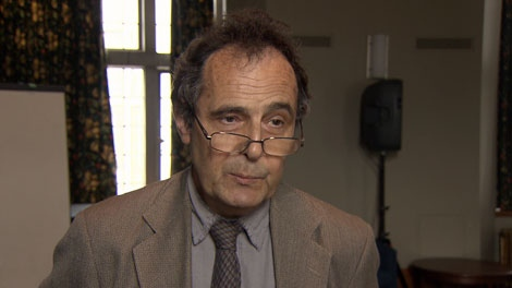 Dr. David Edgington says B.C. is not doing enough to prepare for its own natural disasters. March 10, 2012. (CTV)