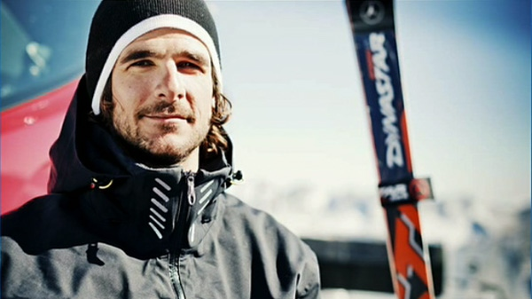 Nik Zoricic, who has died of head injuries after crashing into safety netting at a World Cup skicross event in Switzerland, is seen in this undated image.