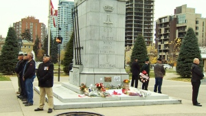 Vigil held for Cpl. Nathan Cirillo in Calgary