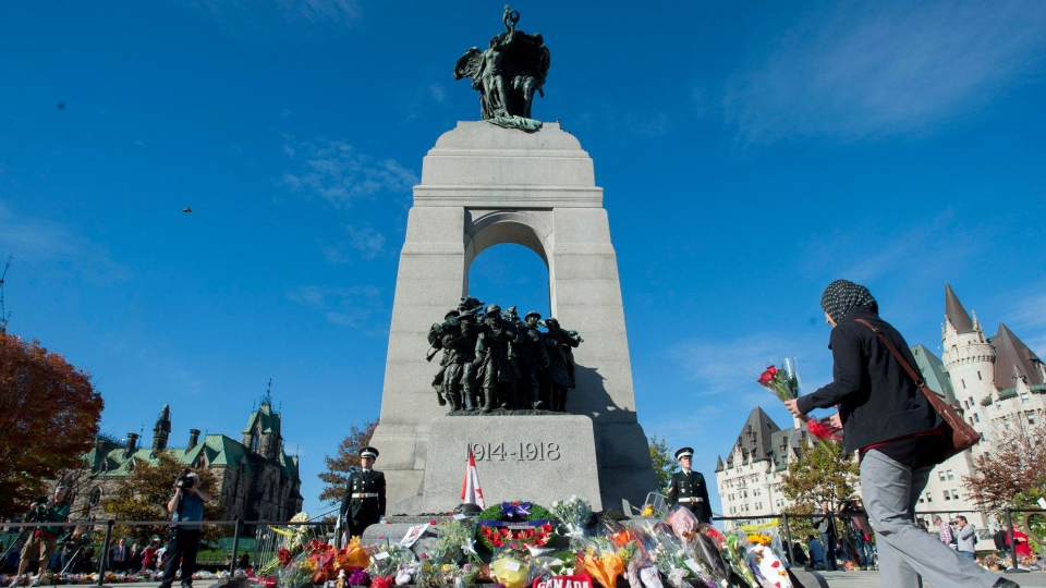 Vigil held for Cpl. Cirillo at Ottawa War Memorial
