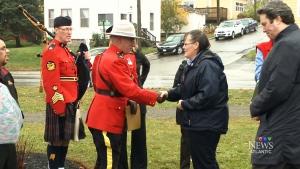 CTV Atlantic: Memorial trees honour Mounties