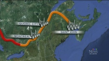 CTV Atlantic: Energy-East pipeline issues