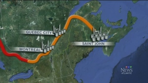 CTV Atlantic: Energy-East pipeline issues