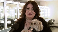 Jann Arden speaks to CTV News about being kicked off a VIA Rail train on Sunday, March 11, 2012.