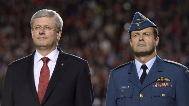 Harper to remain in Ottawa for Remembrance Day