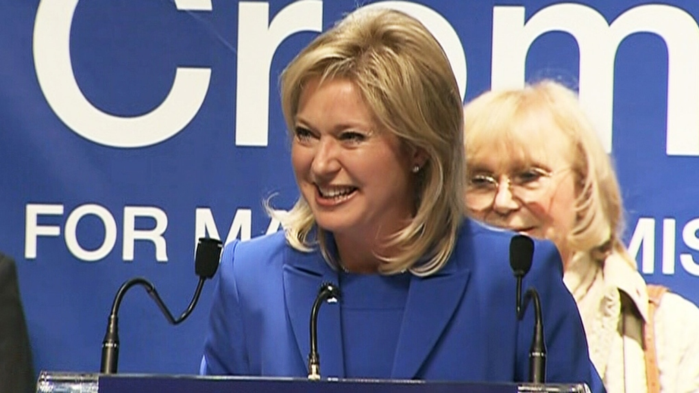 Bonnie Crombie elected mayor of Mississauga