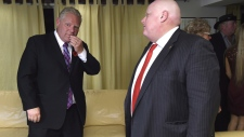 Doug and Rob Ford discuss election results