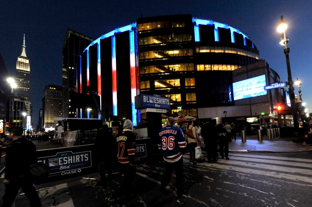 Madison Square Garden Co considers split into two
