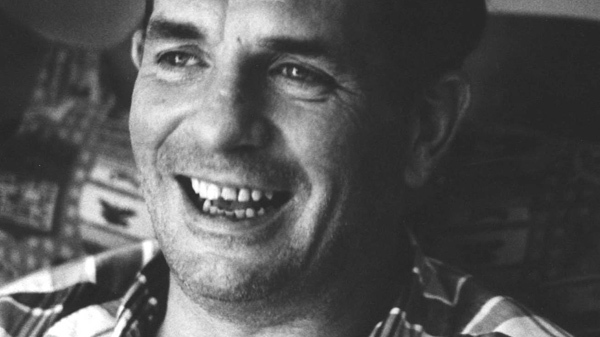 Author Jack Kerouac is shown in Lowell, Mass., in this 1967 file photo. (AP / Stanley Twardowicz)