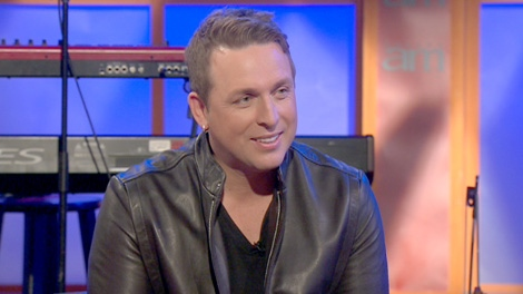 Johnny Reid speaks on Canada AM, Monday, March 12, 2012.