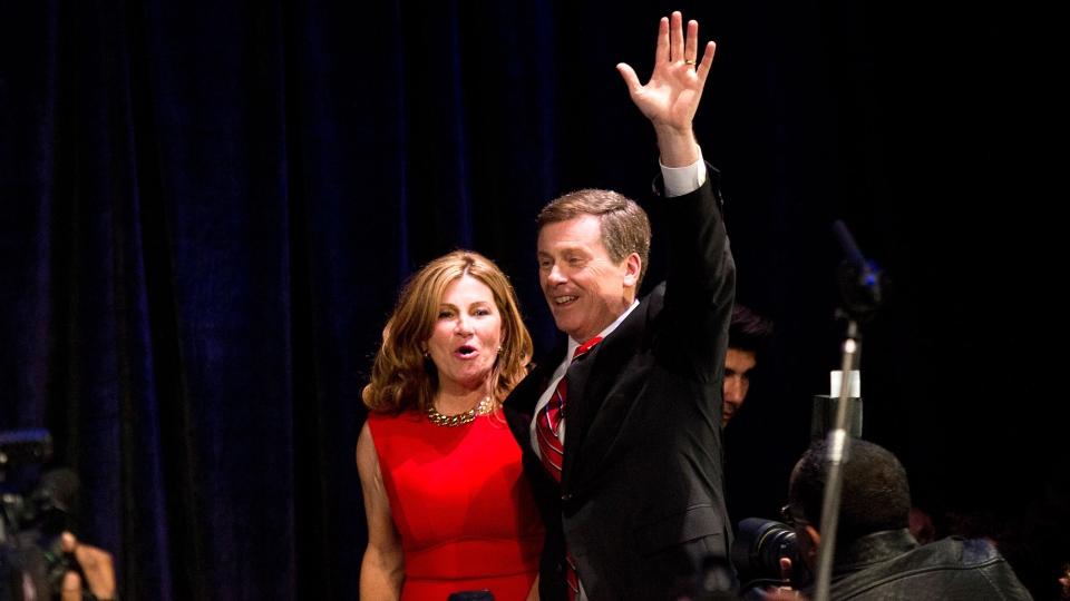 John Tory wins Toronto municipal election