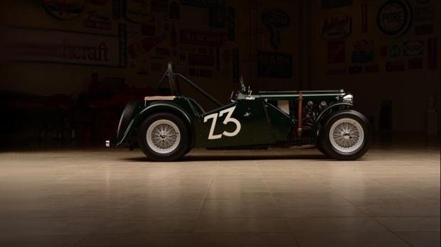 Carroll Shelby's 1949 MG TC