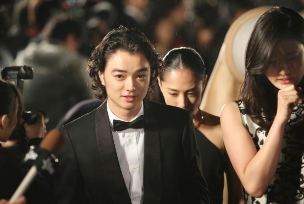 Japanese actor Shota Sometani