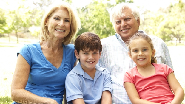 Young kids may help ease menopause