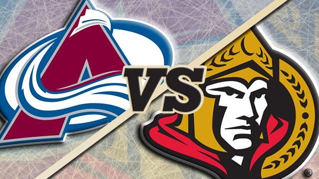 Ottawa Senators vs. Colorado Avalanche