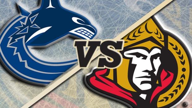 Ottawa Senators defeat Vancouver Canucks in shootout Tuesday night