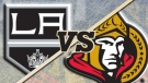Ottawa Senators vs. Los Angeles Kings