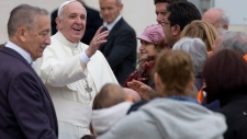 Pope Francis says evolution is real