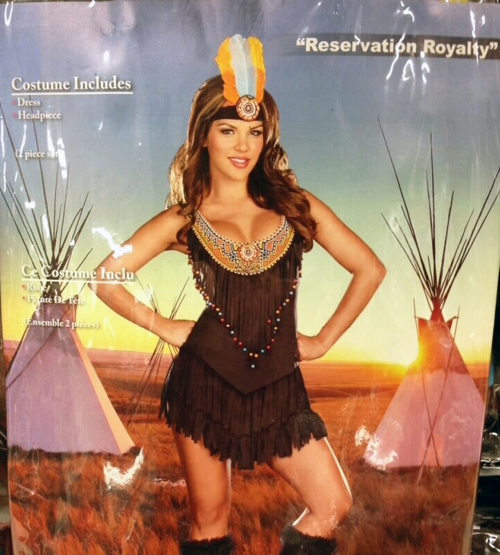 A woman says some Halloween costumes being sold in Winnipeg are offensive to aboriginal culture.