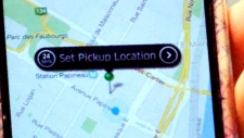 CTV Montreal: UberX ride shares launch