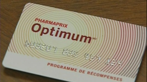 Shoppers Drug Mart  Optimum card points
