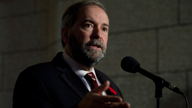 NDP Leader Tom Mulcair on Ottawa shootings
