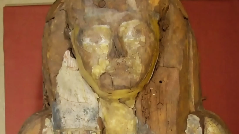 ROM mummy has a name