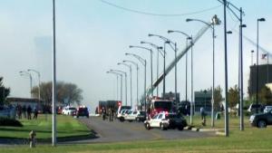 LIVE1: Plane crash in Wichita