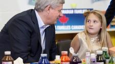 Harper makes announcement on tax break