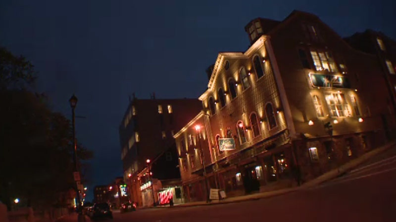 When the Titanic sank in 1912, bodies were brought to what is now the Five Fishermen restaurant in Halifax.