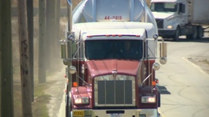 Alberta farmers say new rules for training and testing truckers will hurt their operations.