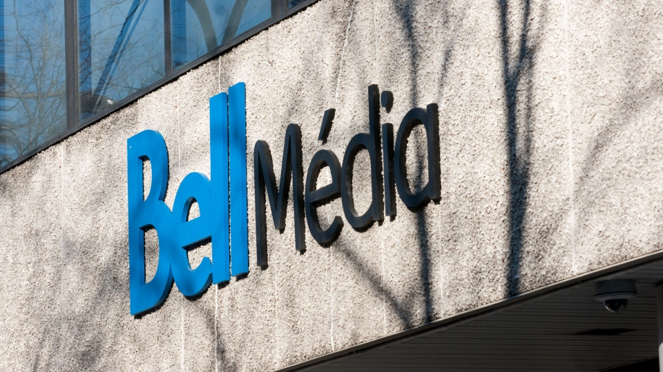Bell Media logo. (The Canadian Press Images-Mario Beauregard)