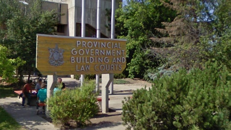 A provincial government building is seen in Fort St. John in this Google Maps image.