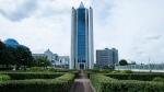 Gazprom headquarters in Moscow, Russia, on June 27, 2014. (AP / Alexander Zemlianichenko)