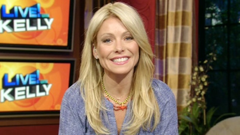 LIVE! host Kelly Ripa appears on Canada AM, Thursday, March 15, 2012.