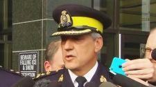 RCMP Assistant Commissioner Roger Brown