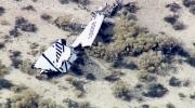 LIVE2: Virgin Galactic's spaceship crashes