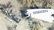 Virgin's Galactic SpaceShipTwo crashes during a test flight in California on Friday, Oct. 31, 2014