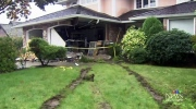 CTV Vancouver: Swerving truck smashes into home