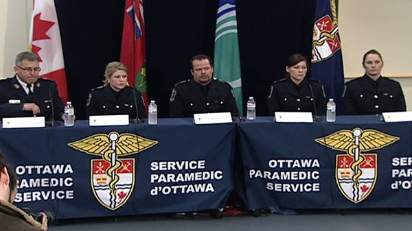 Paramedics speak for their first time about the night of Const, Eric Czapnik's death.