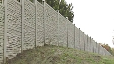 CTV London: Testing new east end noise barrier