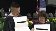CTV Kitchener: Mother & Son graduate