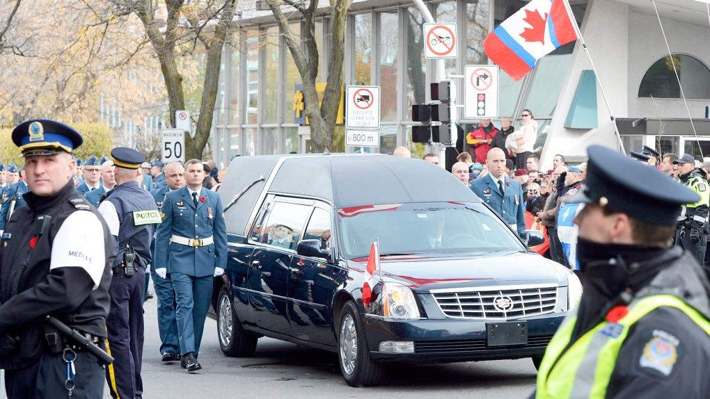 Funeral For Warrant Officer Patrice Vincent Ctv News