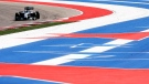 Mercedes driver Nico Rosberg, of Germany, during qualifying for the Formula 1 U.S. Grand Prix at the Circuit of the Americas in Austin, Texas, Saturday, Nov. 1, 2014. (AP / David J. Phillip)