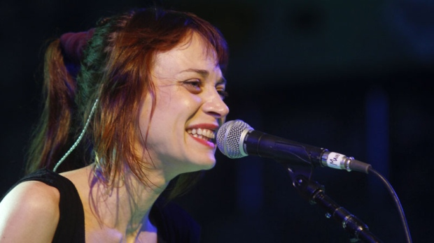 Fiona Apple performs at the NPR showcase during the SXSW Music Festival in Austin, Texas on Wednesday, March 14, 2012.