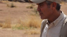 George Clooney stars in a YouTube clip about violence in South Sudan.