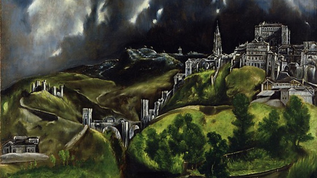 An analysis of el grecos landscape paintings