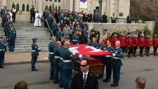 Funeral for Warrant Officer Patrice Vincent