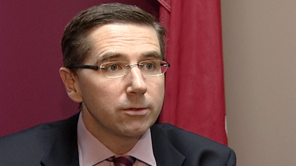 Kitchener Centre John Milloy speaks to CTV News in this March 2012 file photo.